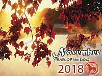 November 2018 monthly horoscope