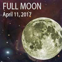 Full Moon April 11