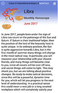 Monthly Horoscope APP
