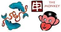 Pisces monkey