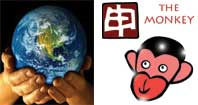 Mou Shen or Earth Monkey Chinese year