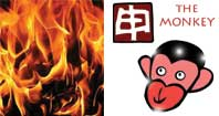 Mou Shen or Fire Monkey Chinese year
