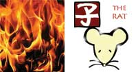 Ken Tzu or Fire Rat Chinese year