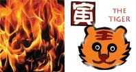 Jen Yin or Fire Tiger Chinese year