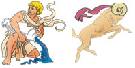 Aquarius and Aries Zodiac signs compatibility
