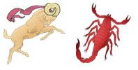 Aries and Scorpio Zodiac signs compatibility