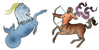 Capricorn and Sagittarius Zodiac signs compatibility