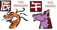 Dragon and Horse compatibility horoscope