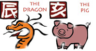 Dragon and Pig compatibility horoscope