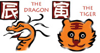 Dragon and Tiger - Chinese compatibility horoscope for a ...
