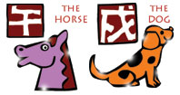 Horse and Dog compatibility horoscope