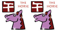 Horse and Horse compatibility horoscope