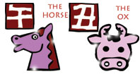 Horse and Ox compatibility horoscope