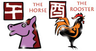 Horse and Rooster compatibility horoscope