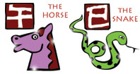 Horse and Snake compatibility horoscope