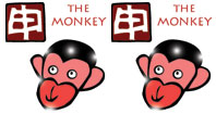 Monkey and Monkey compatibility horoscope