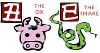 Ox and Snake compatibility horoscope