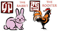 Rabbit and Rooster compatibility horoscope