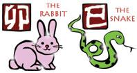 Rabbit and Snake compatibility horoscope