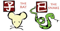 Rat and Snake compatibility horoscope