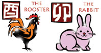 Rooster and Rabbit compatibility horoscope