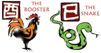 Rooster and Snake compatibility horoscope