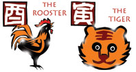 Rooster and Tiger compatibility horoscope