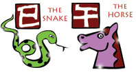 Snake and Horse compatibility horoscope