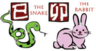 Snake and Rabbit compatibility horoscope