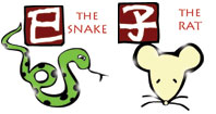 Snake and Rat compatibility horoscope