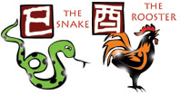 Snake and Rooster compatibility horoscope