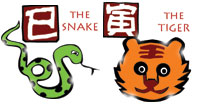 Snake and Tiger compatibility horoscope