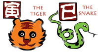 Tiger and Snake compatibility horoscope