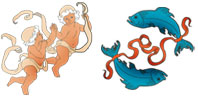 Gemini and Pisces Zodiac signs compatibility