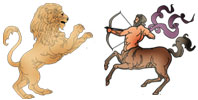 Leo and Sagittarius Zodiac signs compatibility