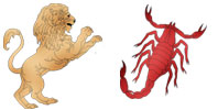 Leo and Scorpio Zodiac signs compatibility