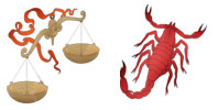 Libra and Scorpio Zodiac signs compatibility