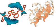 Pisces and Gemini Zodiac signs compatibility