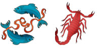 Pisces and Scorpio Zodiac signs compatibility