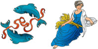 Pisces and Virgo Zodiac signs compatibility