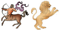 Sagittarius and Leo Zodiac signs compatibility