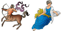 Sagittarius and Virgo Zodiac signs compatibility
