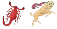 Scorpio and Aries Zodiac signs compatibility