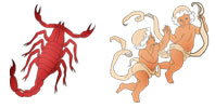 Scorpio and Gemini Zodiac signs compatibility