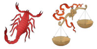 Scorpio and Libra Zodiac signs compatibility