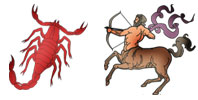 Scorpio and Sagittarius Zodiac signs compatibility