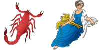 Scorpio and Virgo Zodiac signs compatibility