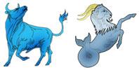 Taurus and Capricorn Zodiac signs compatibility