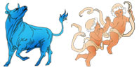 Taurus and Gemini Zodiac signs compatibility