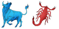 Taurus and Scorpio Zodiac signs compatibility